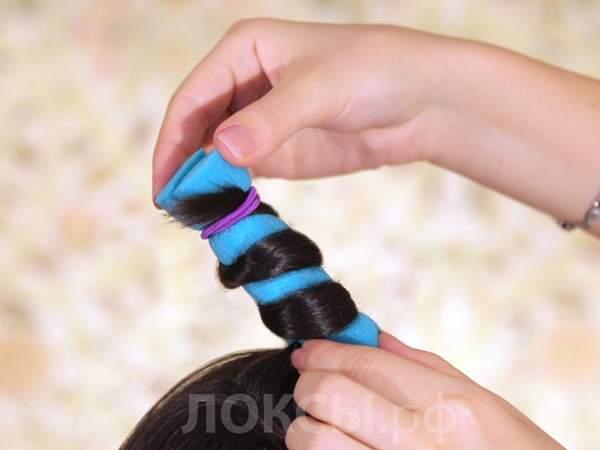 Как сделать спиральный локон